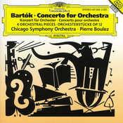 Bartók: Concerto for Orchestra; Orchestral Pieces, Op. 12 Songs