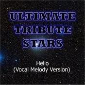 Martin Solveig - Hello (Vocal Melody Version) Songs