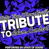 Better Than I Know Myself: Tribute To Adam Lambert Songs