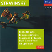 Stravinsky: Dumbarton Oaks; Danses Concertantes; Concerto in D for Strings Songs