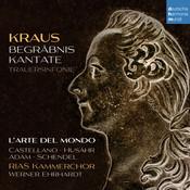 Kraus: Begräbniskantate, Trauersinfonie Songs