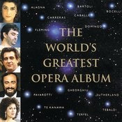 The World's Greatest Opera Album Songs