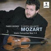 Mozart Violin Concertos 1,2 & 3 Songs