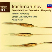 Rachmaninov Complete Piano Concertos Rhapsody On A Theme Of Paganini Songs