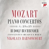 Mozart: Piano Concertos Nos. 23 & 25 Songs