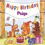Happy Birthday Paige Songs