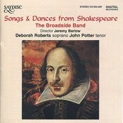 Songs & Dances From Shakespeare Songs