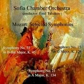 Mozart: Selected Symphonies Songs