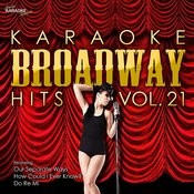 Karaoke Broadway Hits Vol. 21 Songs