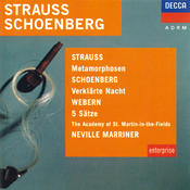 Strauss, R.: Metamorphosen / Schoenberg:Verklärte Nacht / Webern: 5 Movements Songs