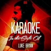Karaoke - In The Style Of Luke Bryan Songs
