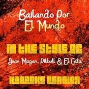 Bailando Por El Mundo (In The Style Of Juan Magan, Pitbull & El Cata) [Karaoke Version] Song