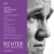 Richter Plays Haydn/Weber/Beethoven (2 Cds) Songs