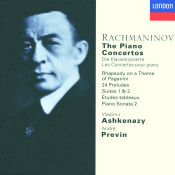 Rachmaninov The Piano Concertos Etc Songs