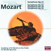 Mozart Symphonies Nos 31 32 34 Songs