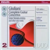 Giuliani Complete Guitar Concertos Songs