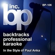 Karaoke - In the Style of Paul Anka Songs