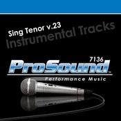 Sing Tenor v.23 Songs