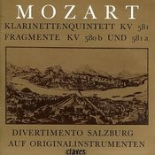 Mozart: Clarinet Quintet Songs
