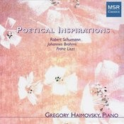 Poetical Inspirations: Brahms, Liszt & Schumann Songs