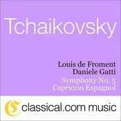 Pyotr Il'yich Tchaikovsky, Symphony No. 5 In E Minor, Op. 64 Songs