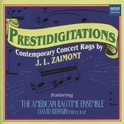 Prestidigitations: Contemporary Concert Rags By Jl Zaimont Songs
