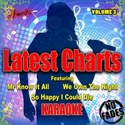 Karaoke - Latest Charts Vol. 3 Songs