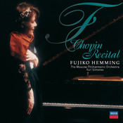 Fujiko Hemming:  Chopin Recital Songs