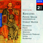 Rossini Petite Messe Solennelle Stabat Mater Songs