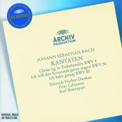 Bach J S Cantatas Christ Lag In Todesbanden Ich Will Den Kreuzstab Gerne Tragen Songs
