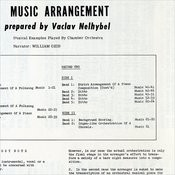 Music Arrangement: Prepared By Vaclav Nelhybel - Musical Examples Played By Chamber Orchestra Songs