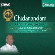 Chidanandam - O. S Thyagarajan Live At Chidambaram - 2 Songs