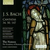 J.S. Bach: Cantatas 34, 50, 147 Songs