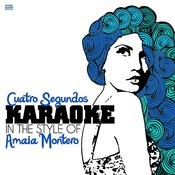 Cuatro Segundos (In The Style Of Amaia Montero) [Karaoke Version] Song