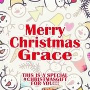 Merry Christmas Grace - A Special #christmasgift For You Songs