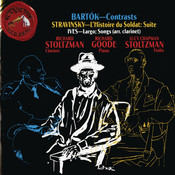Bartok: Contrasts - Stravinsky: L'Histoire du Soldat - Suite; Ives: Largo; Songs Songs