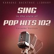 Sing In The Style Of Pop Hits 102 (Karaoke Version) Songs