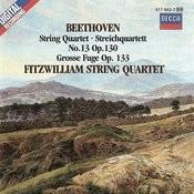 Beethoven: String Quartet No. 13; Grosse Fuge Songs