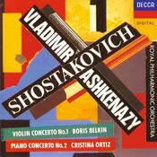 Shostakovich: Violin Concerto No.1; Piano Concerto No.2 Songs