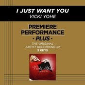I Just Want You (Premiere Performance Plus Track) Songs