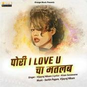 Pori I Love U Cha Matlab Vijayraj Nikam Full Mp3 Song