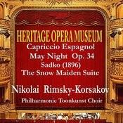 Heritage Opera Museum Rimsky-Korsakov Selection Songs