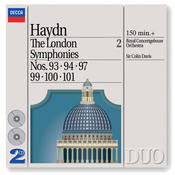 Haydn: The London Symphonies - Nos. 93, 94, 97 & 99 - 101 Songs