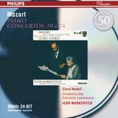 Mozart: Piano Concertos Nos.20 & 24 Songs