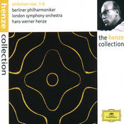 Henze: Symphonies Nos.1 - 6 Songs