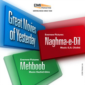 Great Movies of Yesterday Naghma-e-Dil / Mehboob Songs