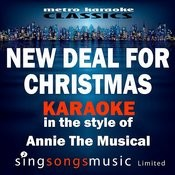 New Deal For Christmas (In The Style Of Annie The Musical) [Karaoke Version] - Single Songs