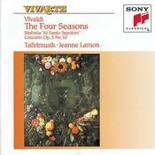 Vivaldi: The Four Seasons, Sinfonia in B Minor, RV 169 & Concerto for 4 Violins & Cello in B Minor, RV 580 Songs