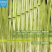 C.P.E. Bach: Organ Works Songs