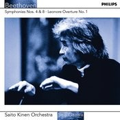 Beethoven: Symphonies Nos.4 & 8 etc Songs